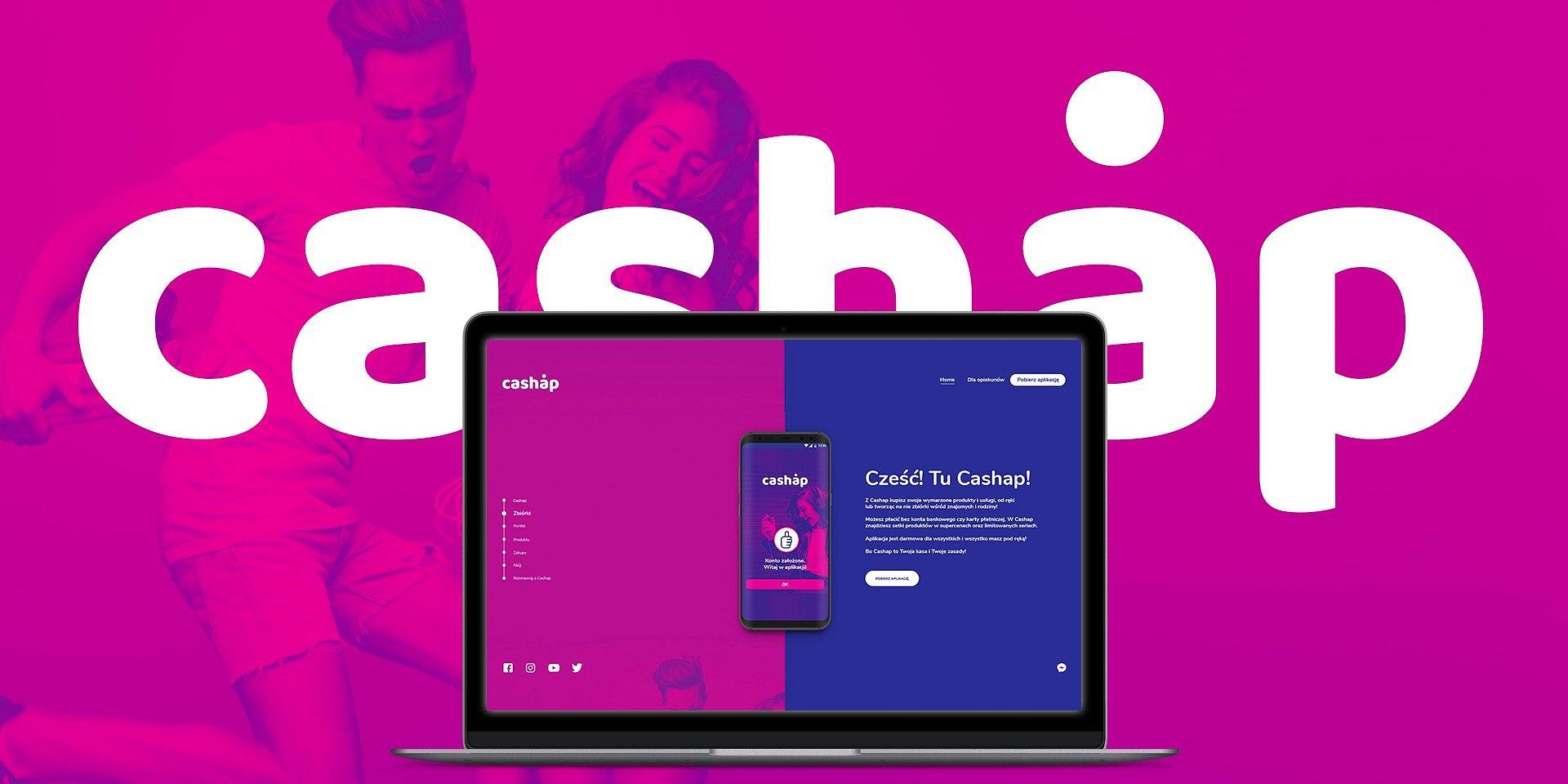 Grupa S/F z kampanią launchową dla Cashap – innowacyjnego produktu branży fintech.