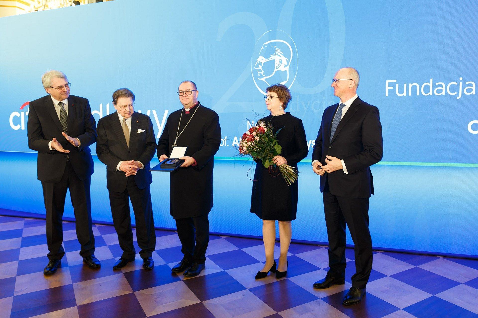 20- lecie Nagrody im. prof. Aleksandra Gieysztora