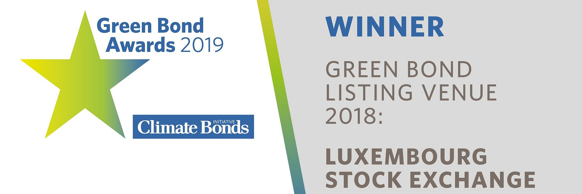 Luxembourg Stock Exchange wins 2019 Green Bond Pioneer Award