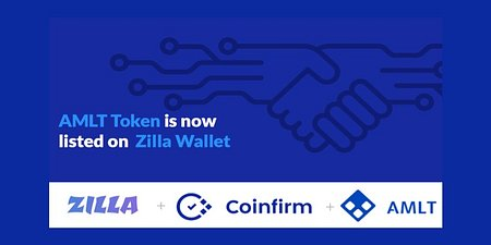 AMLT is now on Zilla Wallet