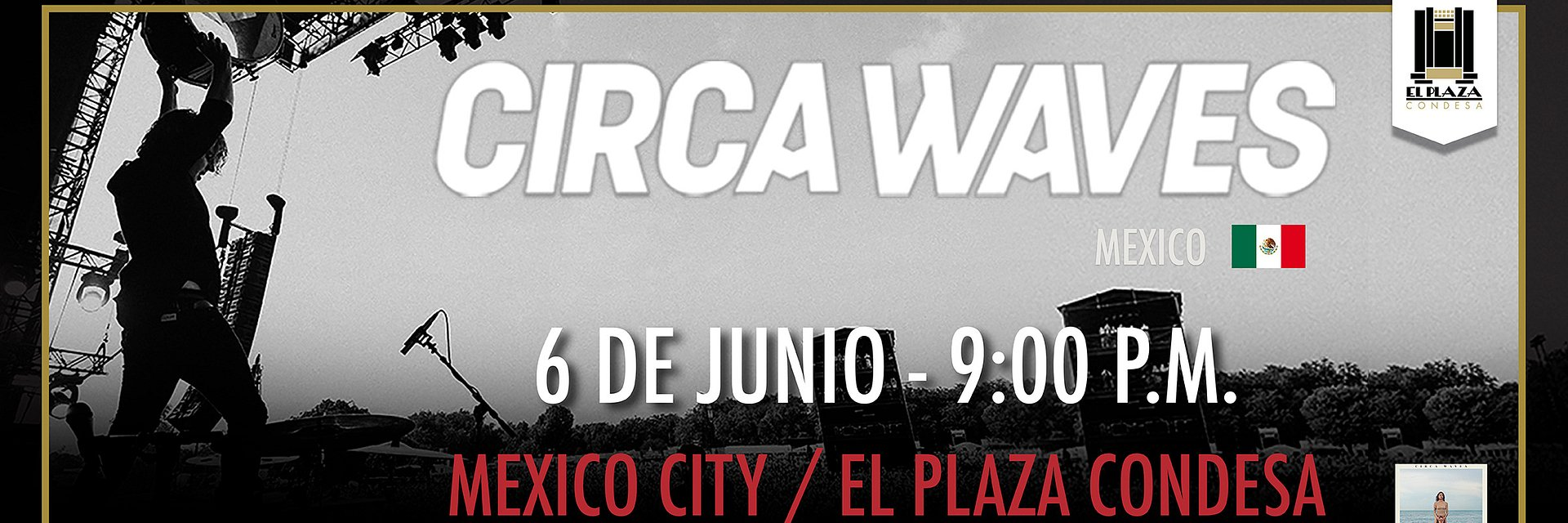 Circa Waves regresa a México