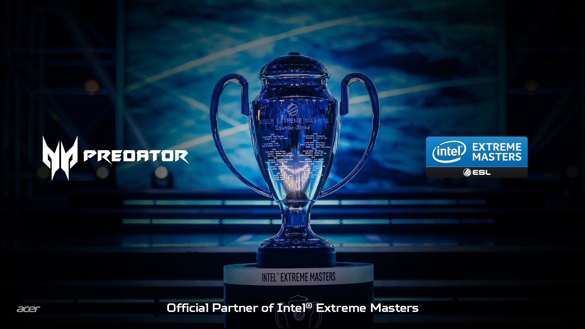 Acer partnerem ESL podczas Intel Extreme Masters do 2022 roku