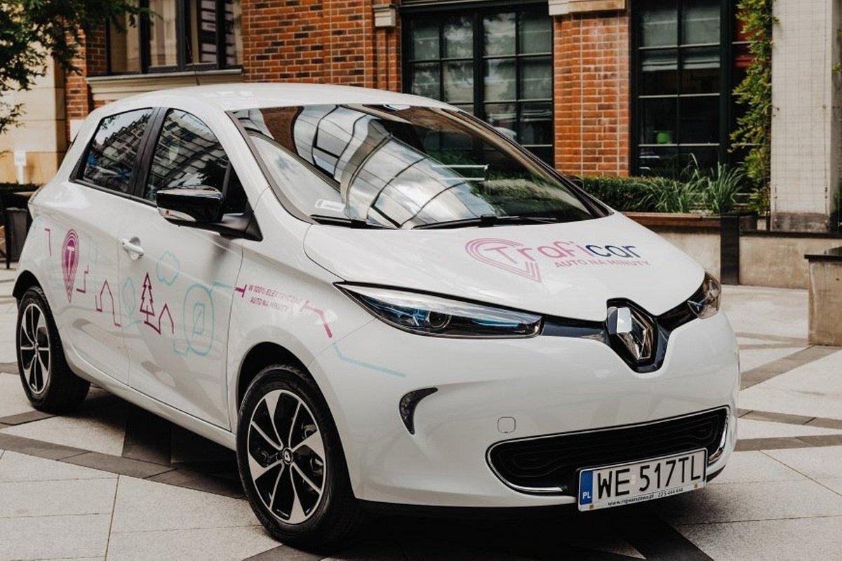 Elektryczne Renault ZOE w projekcie specjalnym Traficara i Renault Polska