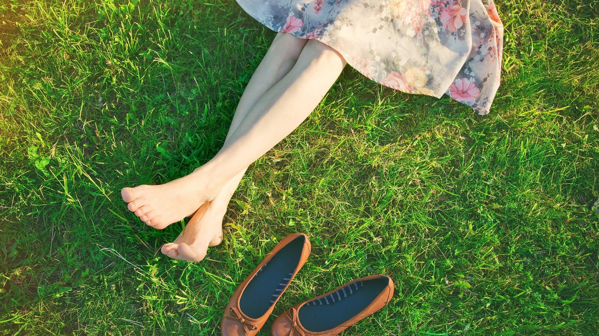Pokaż nogi na wiosnę