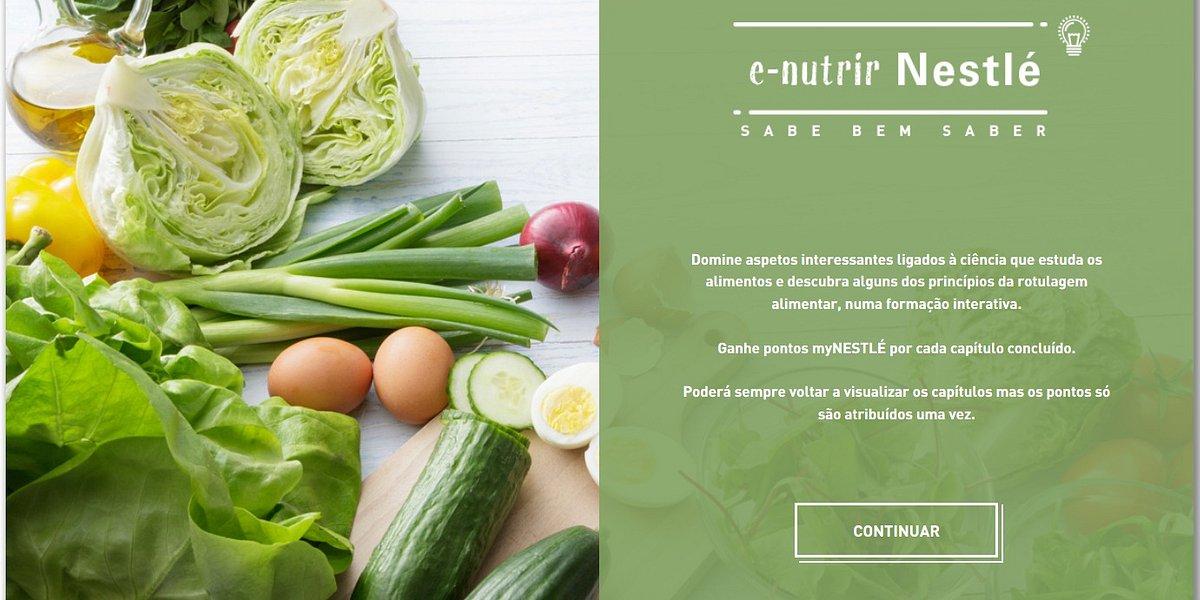 Nestlé lança plataforma digital para ajudar os portugueses a alimentarem-se na dose certa