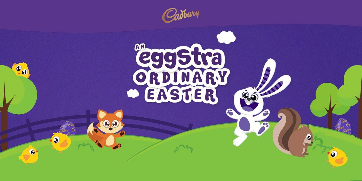 An eggstra-ordinary Cadbury Easter filled with fun and excitement for the whole family