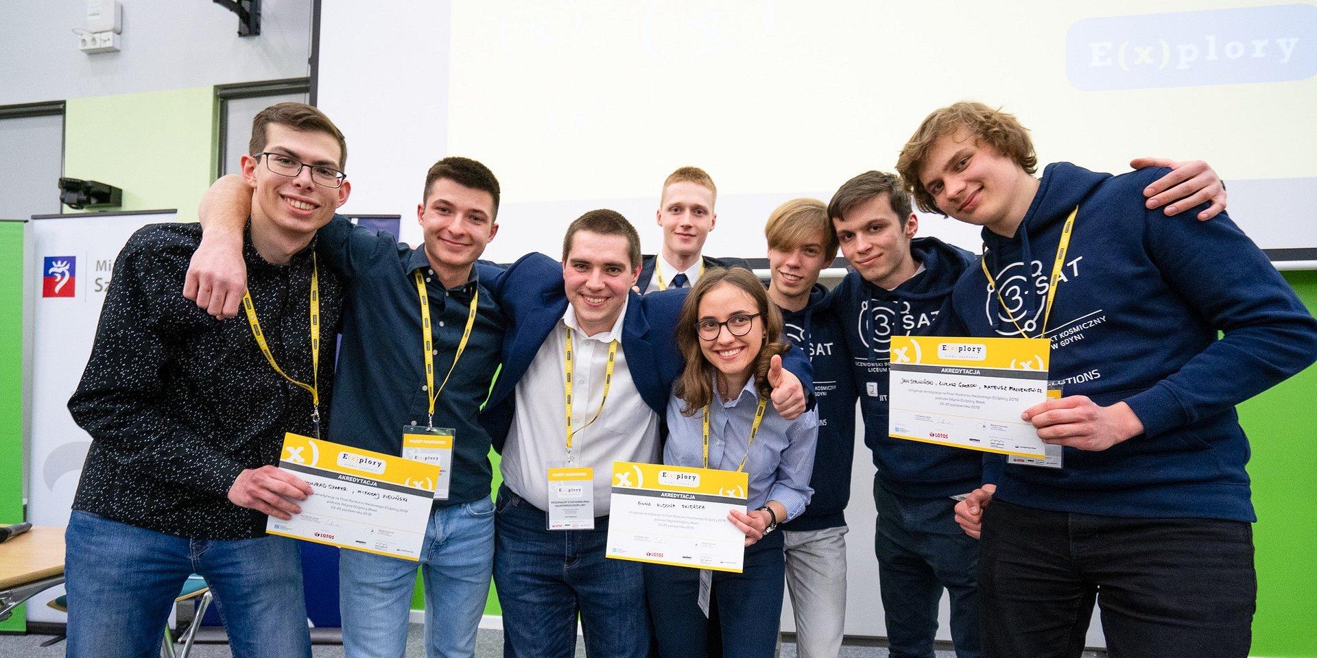Znamy finalistów regionalnego etapu Konkursu Naukowego E(x)plory w Szczecinie!