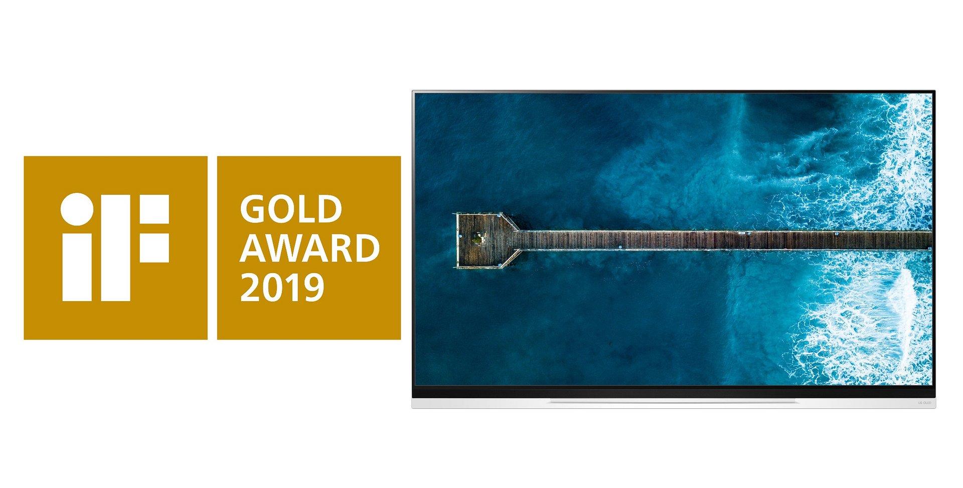 Prestiżowa nagroda iF Gold Award dla telewizora LG OLED