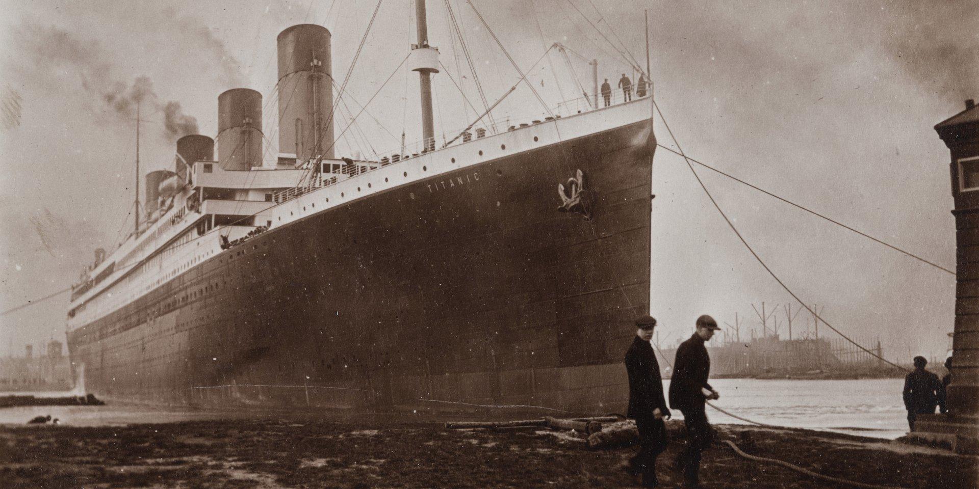 Titanic zatonął 107 lat temu. National Geographic pokaże najciekawsze dokumenty poświęcone katastrofie