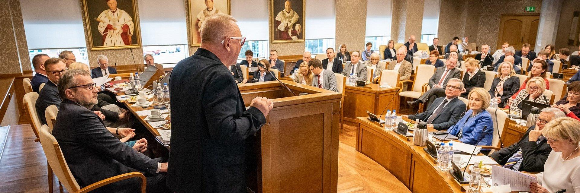 Poparcie dla WOŚP od Senatu Warszawskiego Uniwersytetu Medycznego