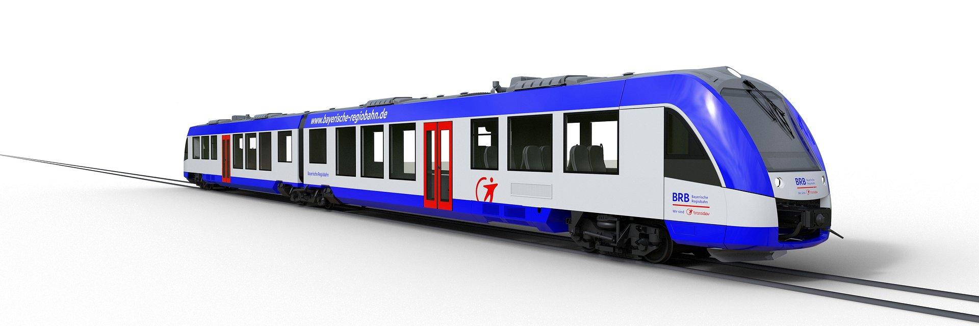 Alstom dostarczy 41 pociągów regionalnych Coradia Lint do Bawarii w Niemczech