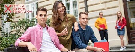 Generacja, która pomaga – krakowscy studenci razem dla chorych na nowotwory krwi.Wiosenna edycja akcji HELPERS' GENERATION