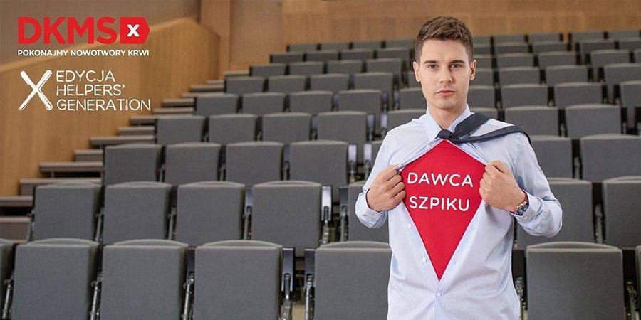 Generacja, która pomaga – lubelscy studenci razem dla chorych na nowotwory krwi.Wiosenna edycja akcji HELPERS' GENERATION