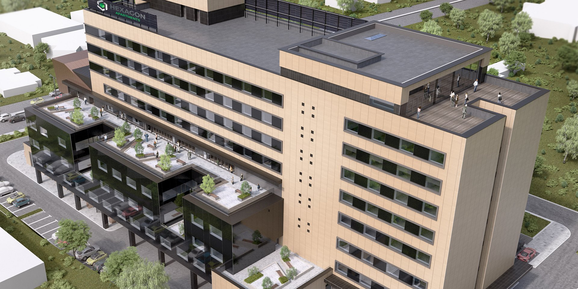 BNP Paribas Real Estate Romania appointed exclusive leasing agent for Hexagon Offices in Cluj-Napoca