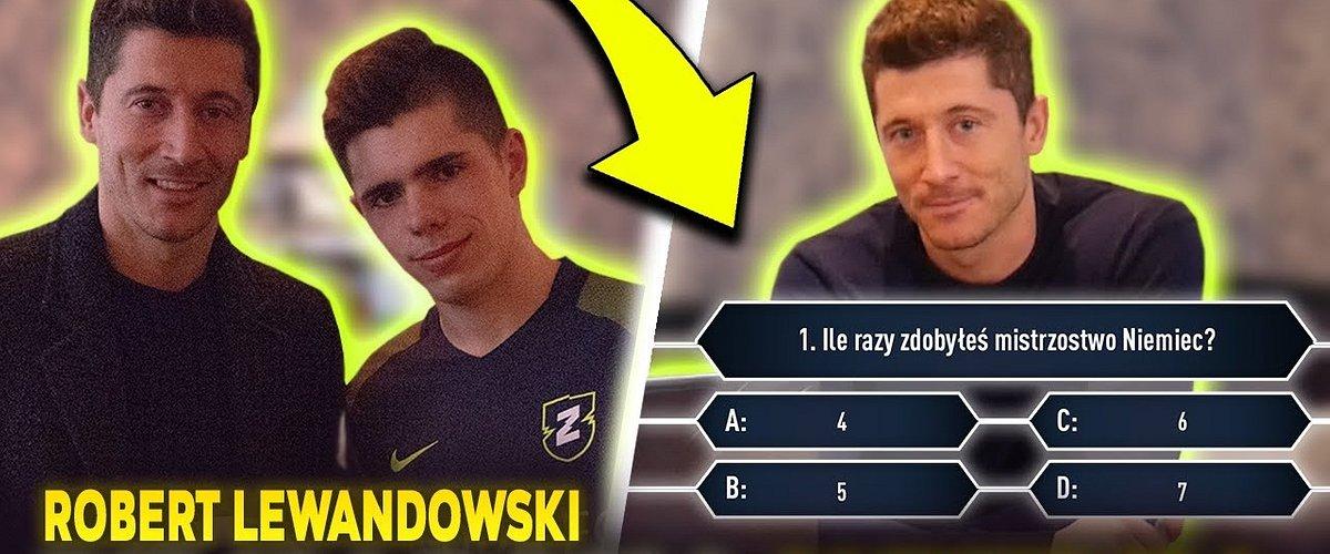 Lewandowski, Szczęsny i Piątek w nowym quizie o futbolu na YT!