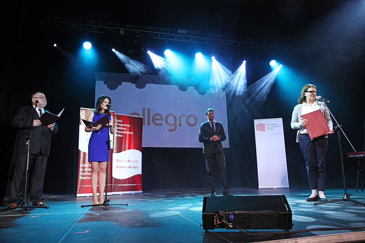 """Allegro """"Solidnym pracodawcą roku"""""""
