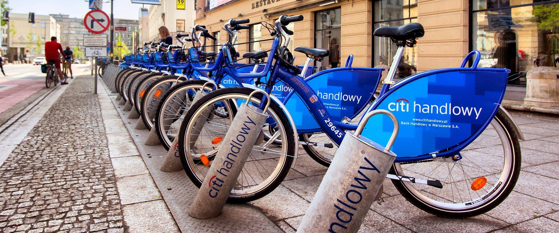 Rowery miejskie Citi Handlowy ruszają w Trójmieście