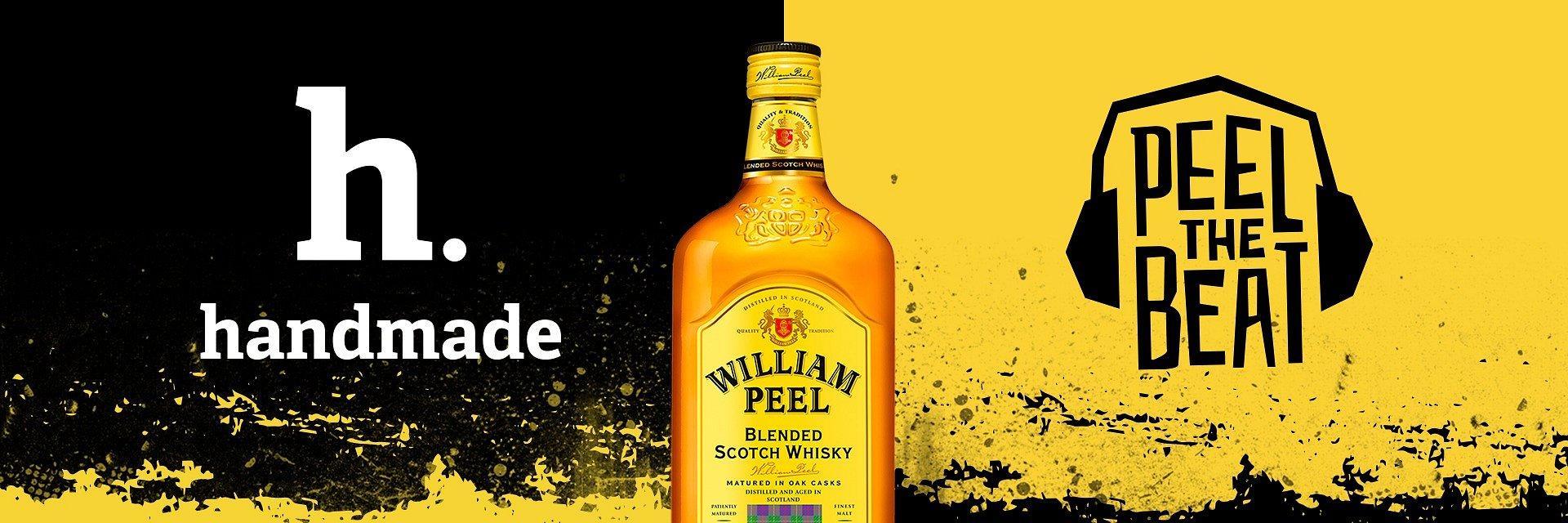 Peel The Beat! Hand Made i William Peel po raz kolejny zapraszają na rok pełen muzycznych wrażeń