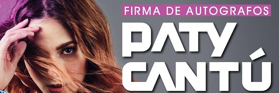 Invitación firma de autógrafos con Paty Cantú