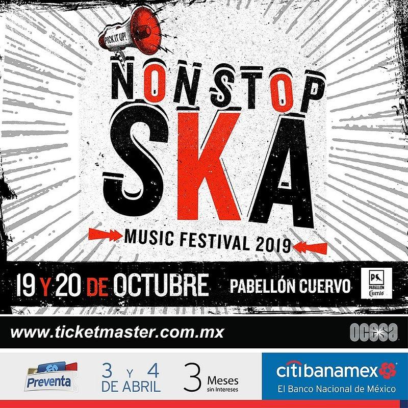Llegará la tercera edición del festival de ska más importante en México Non Stop Ska!