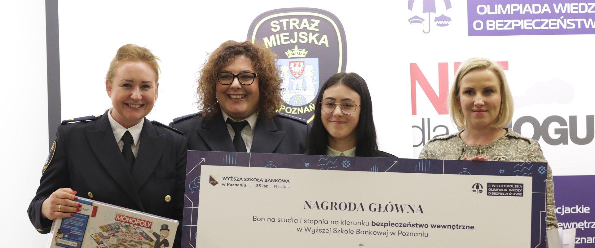 Znamy finalistkę II Wielkopolskiej Olimpiady o Bezpieczeństwie