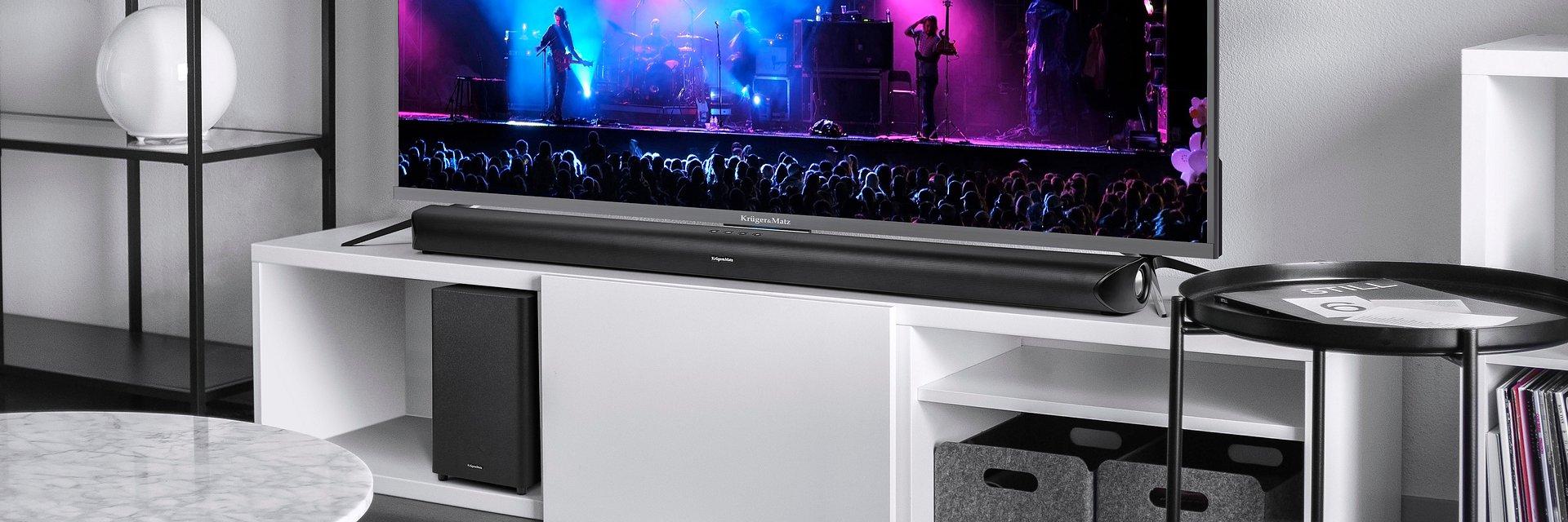 Soundbar Kruger&Matz Odyssey – nowa jakość dźwięku i stylowy design