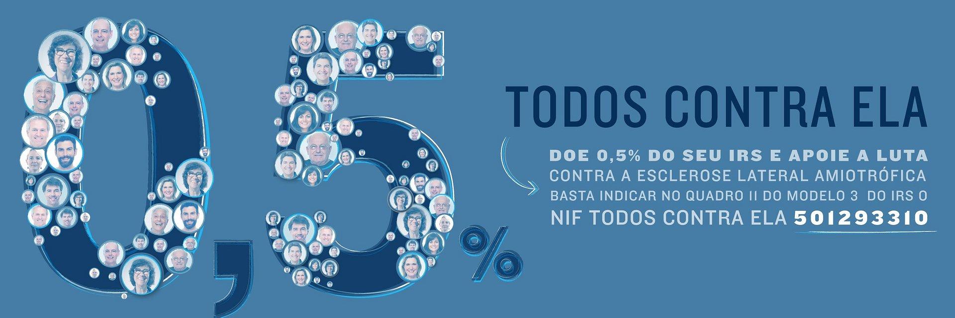 Consignação do IRS ajuda movimento Todos Contra ELA/Liga dos Amigos do Hospital de Santo António