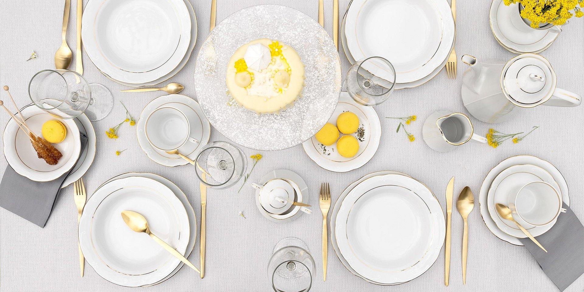 Pierwsze wiosenne śniadanie na tarasie
