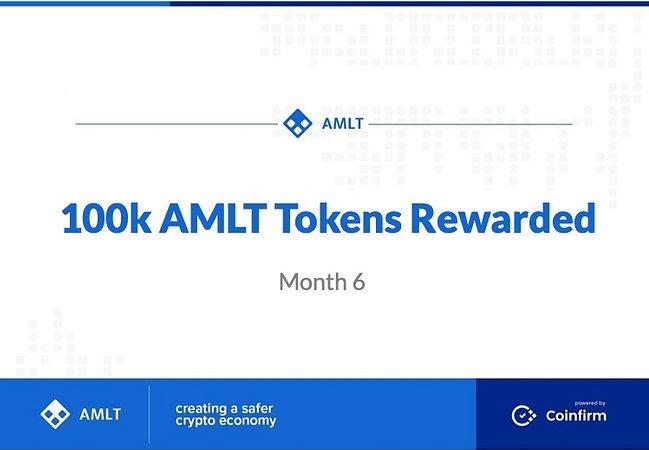 100k AMLT Tokens just Rewarded to NM's!