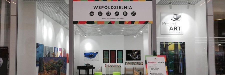 """Galeria Łomianki oddaje jeden z lokali swoim klientom.Rusza punkt aktywności lokalnej i sąsiedzkiej - """"Współdzielnia""""."""