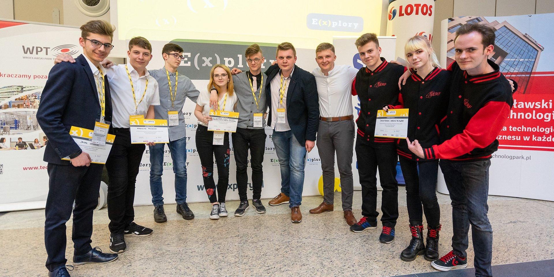 Przedstawiamy finalistów Konkursu Naukowego E(x)plory we Wrocławiu