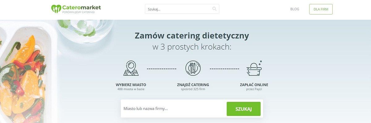 Cateromarket.pl wprowadził usługę zamawiania diet pudełkowych online