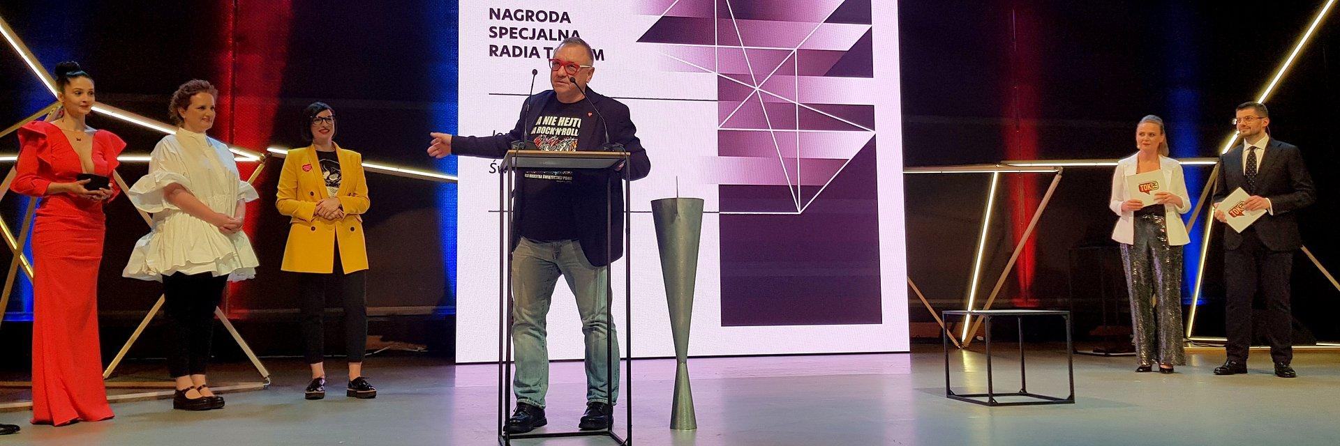 Nagroda TOK FM dla Jurka Owsiaka i WOŚP