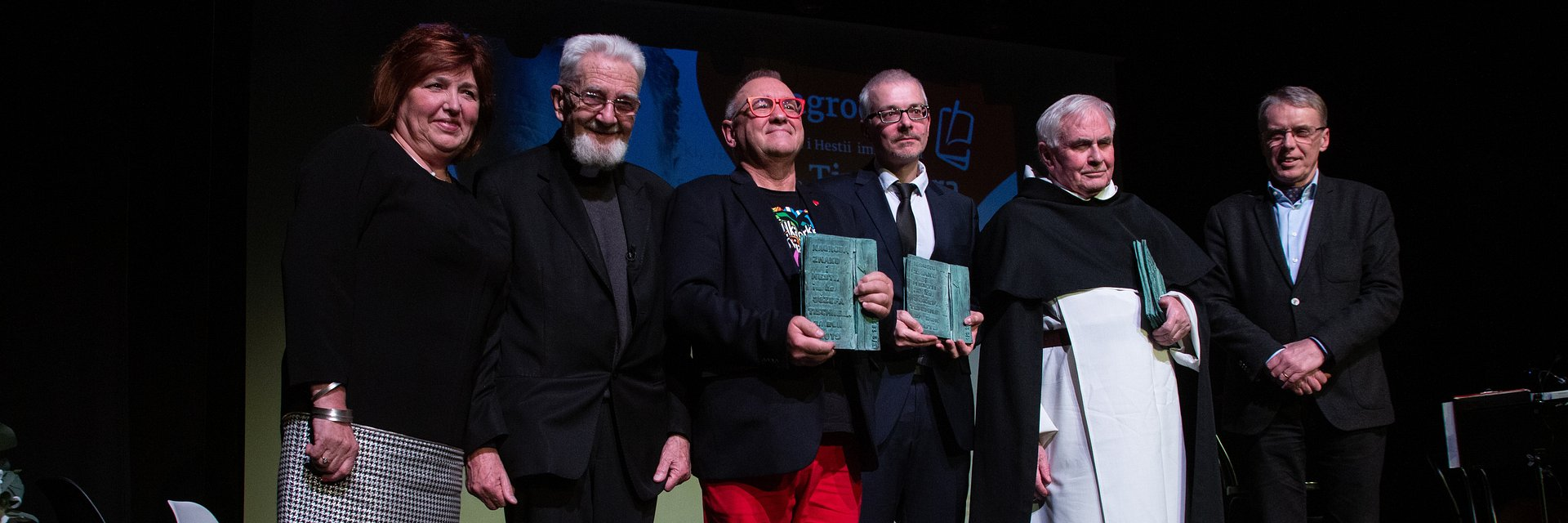 Jerzy Owsiak oraz Lidia Niedźwiedzka-Owsiak laureatami Nagrody im. Ks. Tischnera