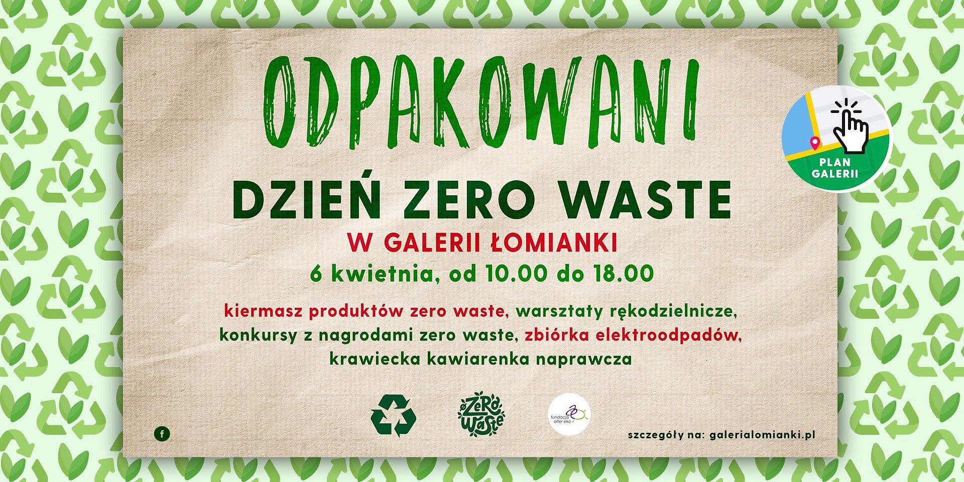 Odpakowani - ekologiczne zakupy. Dzień Zero Waste w Galerii Łomianki