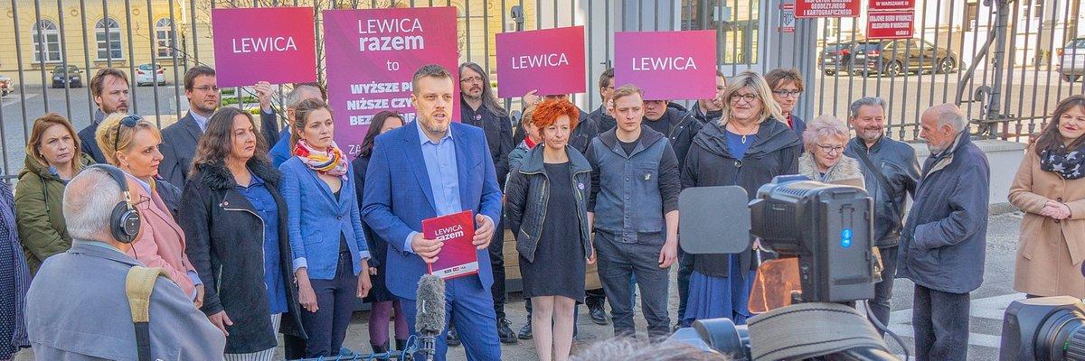 Zandberg, Nosal-Ikonowicz i Grodzka na warszawskiej liście Lewicy Razem do PE