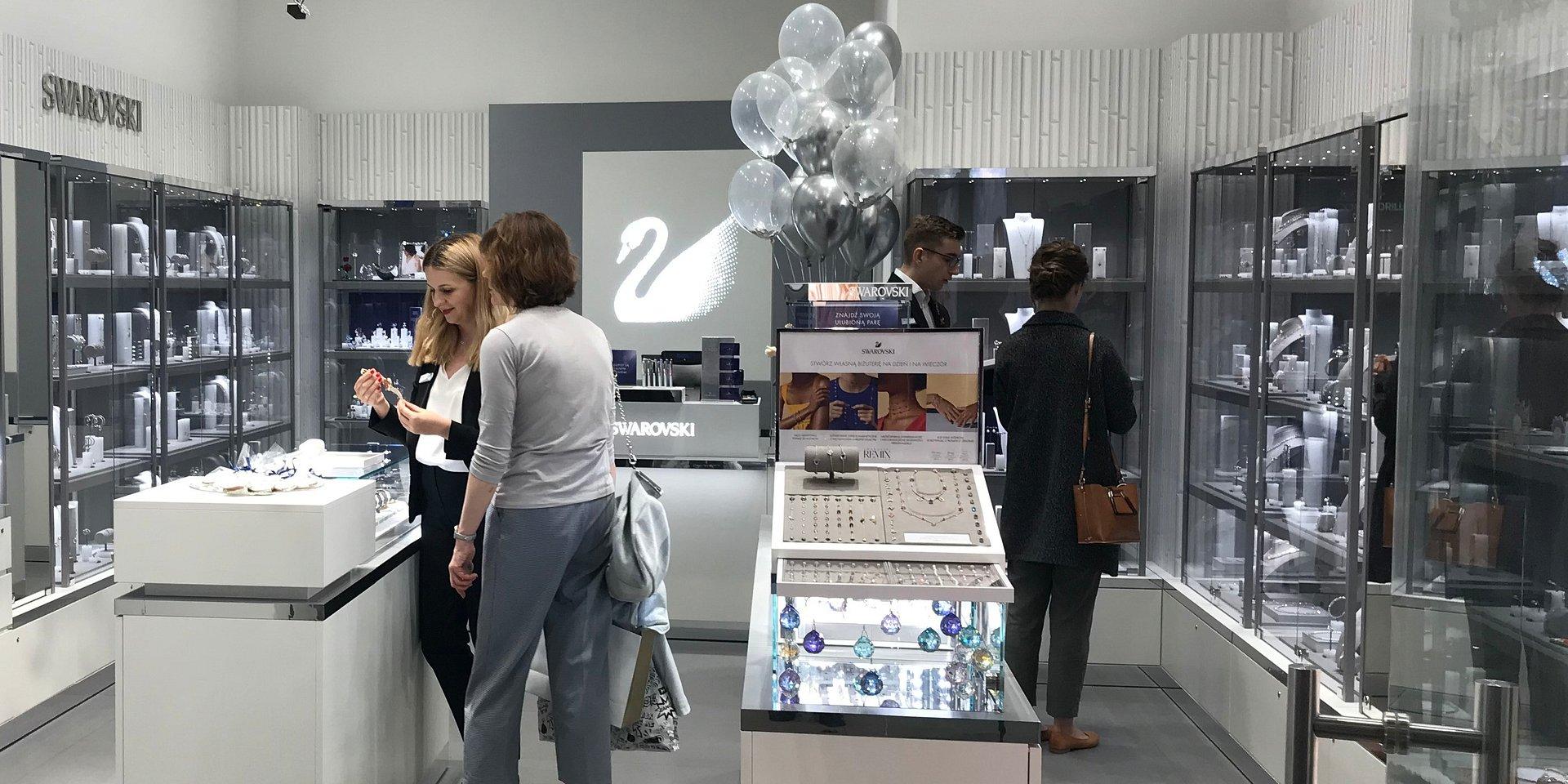 Nowy sklep marki SWAROVSKI w Starym Browarze w Poznaniu