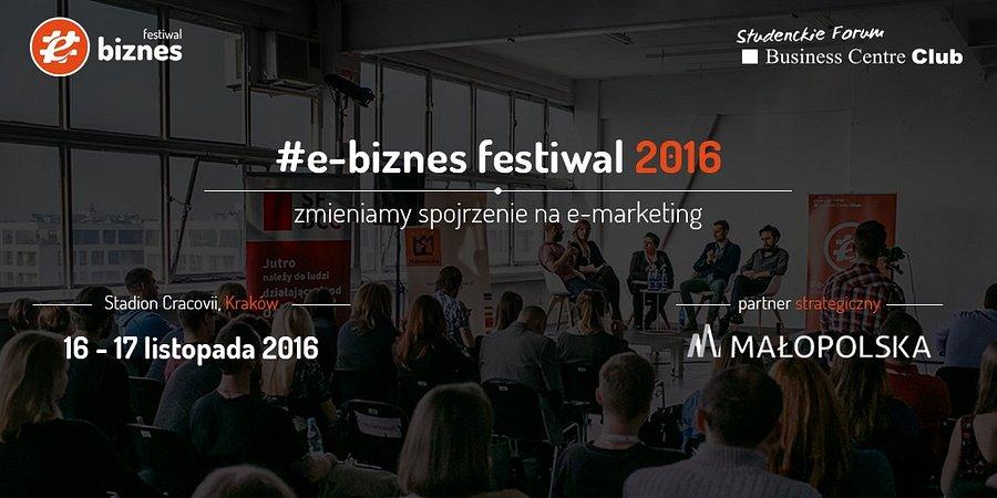 """#e-biznes festiwal """"Jak zwiększyliśmy konwersję biznesu o 60% podnosząc budżety marketingowe o 0,5%"""""""