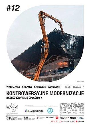 """Obido partonem wystawy """"Kontrowersyjne Modernizacje"""". Zapraszamy do Galerii GAGA. Przybywajcie, oglądajcie!"""