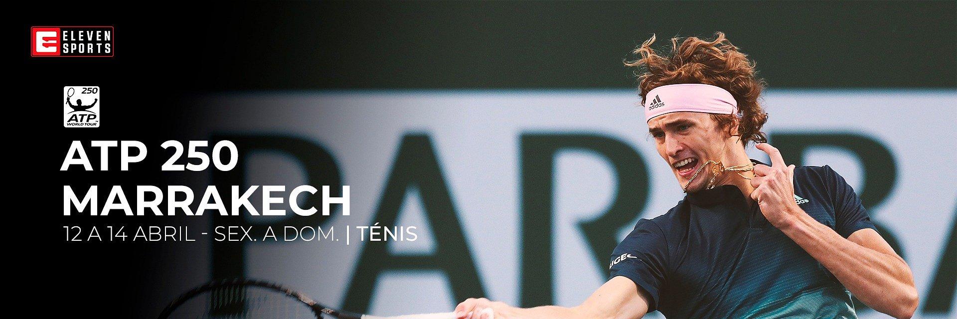 Eleven Sports garante vários torneios ATP 250