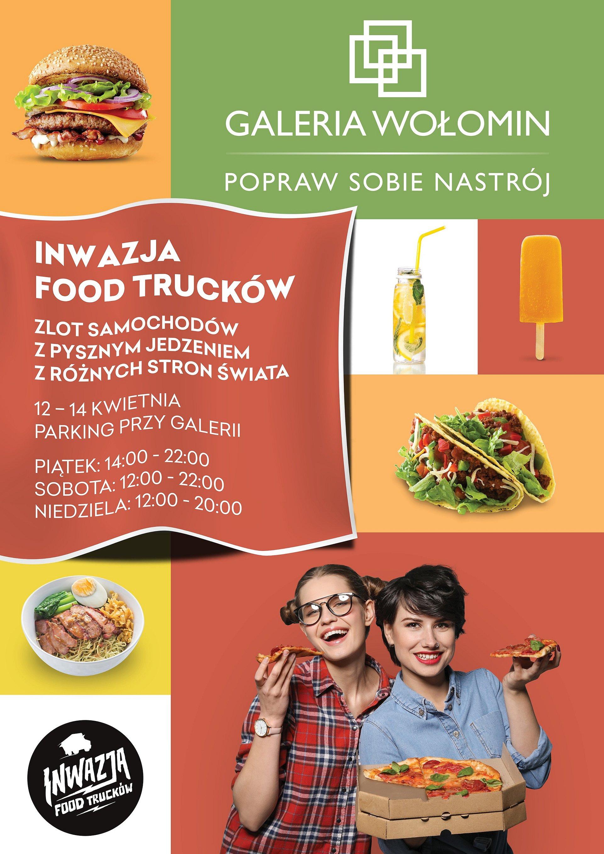 Inwazja Food Trucków w Galerii Wołomin!