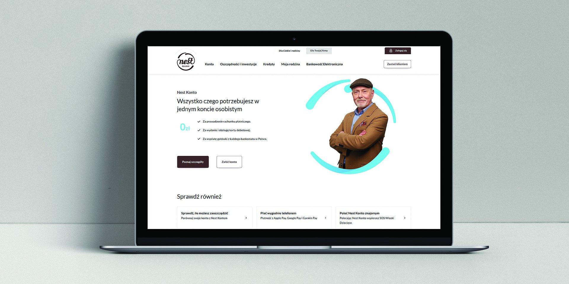 Wystartowała nowa strona www Nest Banku
