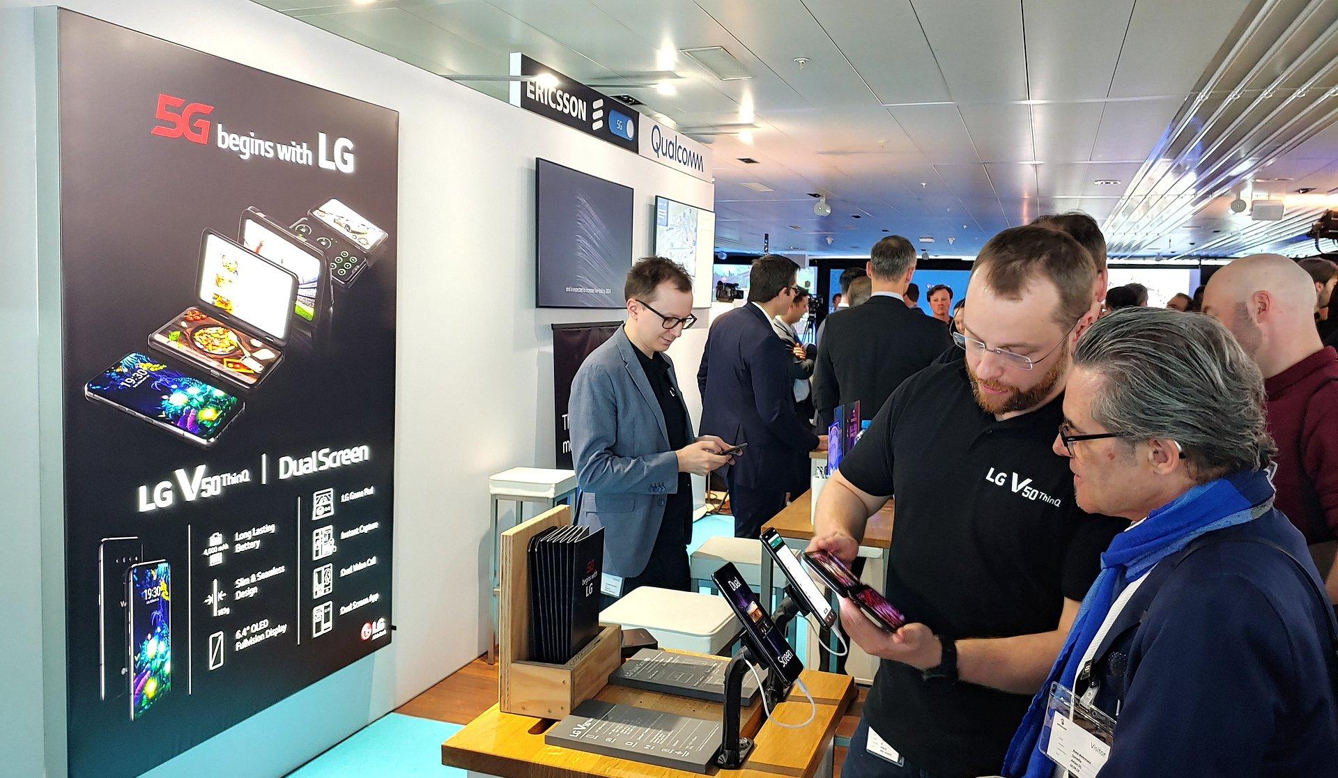 LG i Swisscom wprowadzają technologię 5G do Europy