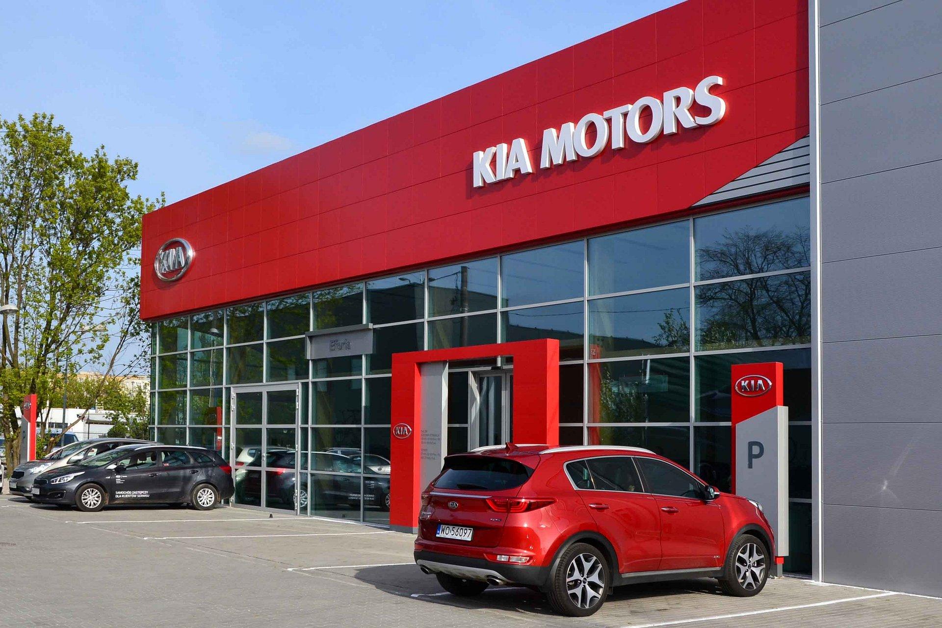 Eforia pierwszym salonem marki Kia w nowym standardzie