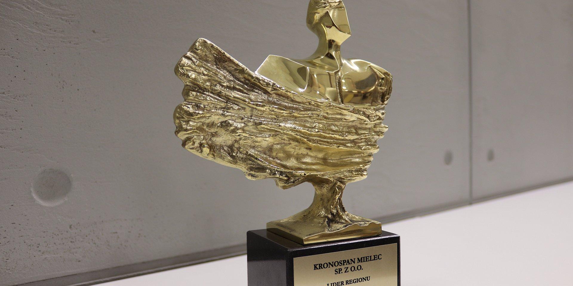 Kronospan z nagrodą Lidera Regionu