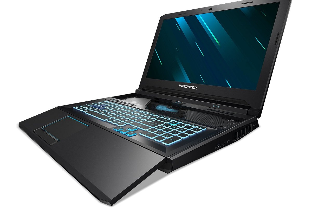 [LV] Acer iepazīstina ar piezīmjdatoru Predator Helios 700, kuram ir unikāla HyperDrift tastatūra uzlabotai temperatūras regulēšanai