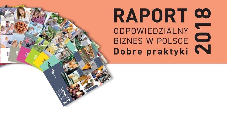 """""""Odpowiedzialny biznes w Polsce 2018. Dobre praktyki"""""""