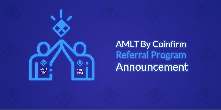 AMLT Token Referral Program Announcement!