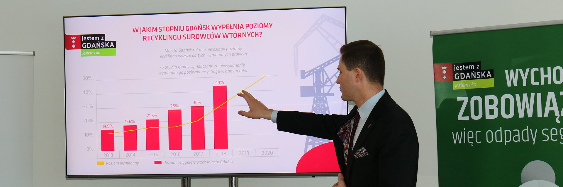 Coraz większe poziomy recyklingu surowców w Gdańsku