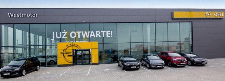 Opel Westmotor już także w podpoznańskich Komornikach